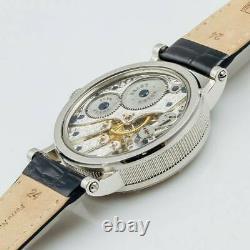 ROLEX Antique 1934 Pocket Watch SN45471 Converted Skeleton Marriage Watch