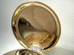 ROLEX STUNNING ANTIQUE SWISS POCKET WATCH SOLID GOLD 9ct GOLD 1927 UK 9 Karats