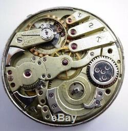 Rare 44mm Repeater antique pocket watch movement not work Repeater (Z294)
