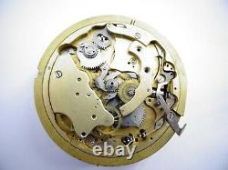 Rare 44mm Repeater antique pocket watch movement not work Repeater (Z296)