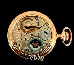 Rare Antique Railroad Crisp 18s 23J Elgin Veritas Pocket Watch Mint Serviced