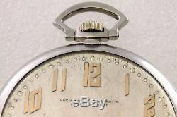 Rare Antique Vacheron Constantin Platinum Pocket Watch Circa 1918