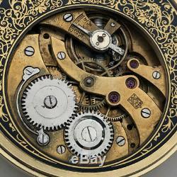 Rare Big ANTIQUE Hy. MOSER Schaffhausen Swiss Wristwatch Gilt case