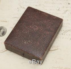 Rare PAUL BUHRE DECK CHRONOMETER Antique Vintage Pocket Watch