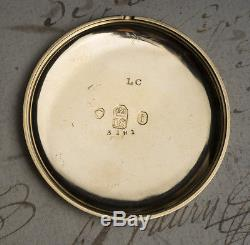 Rare PUMP WINDING Antique Pocket Watch By CHARLES VINER LONDON