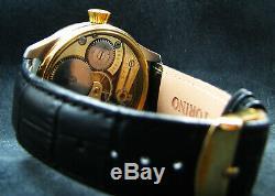 Rare Regulateur marriage Chronometer pocket watch with antique 1918 movement