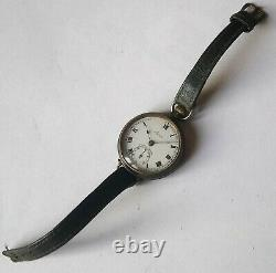 Rare Transitional Pocket Watch Sonia Wristwatch Trench Antique Vintage Ww1