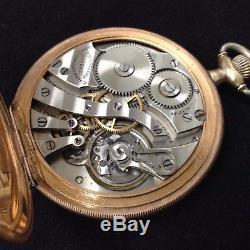 Rare Vintage Antique E Howard Railroad Pocket Watch Working 17Jewels 1223570