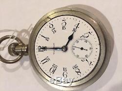 Rare Waltham 92 Model Canadian Pacific Antique Railroad Watch