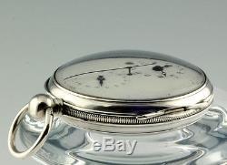Rare double wheel duplex escapement dead beat sec. Date Pocket watch 1800