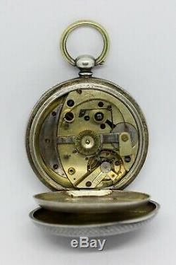 Rare montre gousset automatique / antique automatic pocket watch / taschenuhr