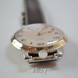Rolex Marconi tropical dial vintage mens military antique ww2 bubble back watch
