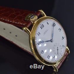 Rolex antique wrist watch for men WW2 military gents trench RWC SAR