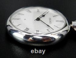 Seiko 36000 Hi-Beat 1977 Vintage 38mm Hand-Winding Pocket Watch 5740 Antique
