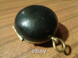 Splendid Rare Antique Enamel Single Hand French Oignon Verge Fusee Ca 1680 S