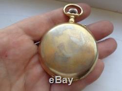 Super Rare Antique Ottoman Turkish Moonphase Calendar Pocket Watch