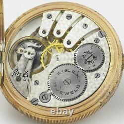 Superb Antique ROLEX Hunter Gold Pocket Watch In Original Box