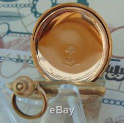 Superb Antique Waltham Gold Plated Full Hunter Mans Pocket Watch