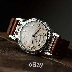Swiss vintage watch, mens watch, pocket watch, watch for man, Mechanical watch art