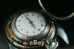 Tortoise Shell Quadruple Verge Fusee Pocket Watch For Ottoman Turkish Market
