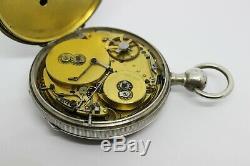 Très rare montre à musique / antique music pocket watch / Taschenuhr mit Musik