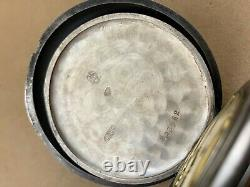 Ulysse Nardin USA Corps Of Engineers 0.800 Silver Antique Pocket Watch #9501
