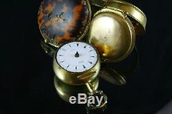 Verge Fusee Triple Cases Pocket Watch Edward Prior For Ottoman Market