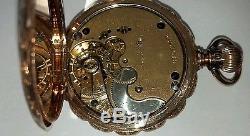 Vintage Antique 14k Solid Gold Elgin Pocket Watch (2cw)