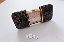 Vintage Art Deco Mappin & Webb Purse Watch Travel Pocket 1930's 17 Jewels Fwo