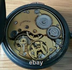 Vintage J. W. Benson London Antique Gunmetal Quarter Repeater Pocket Watch in GWO