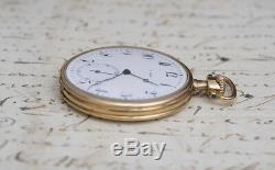 WILLIAM GABUS Imperial RUSSIAN MARKET 14k GOLD Antique Pocket Watch
