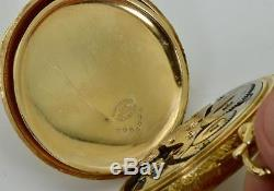WOW! One of a kind antique Waltham 14k gold(100g) 23j CHRONOMETER MASONIC WATCH