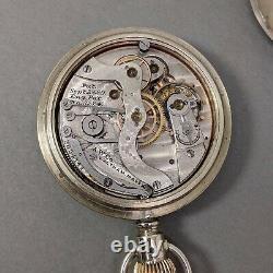 Waltham 14s Chronograph Pocket Watch Vintage Antique Rare ca. 1886