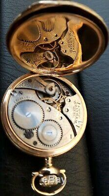 Waltham Pocket Watch GOLD 14K SOLID Miniature Antique America