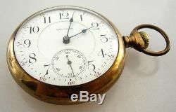 Waltham Vanguard 21 Jewel STAG Case Pocket Watch Antique Vintage Ca. 1896